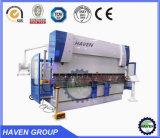 Máquina de dobra hidráulica WC67Y-160/4000 da placa da máquina de dobra do tipo do ABRIGO