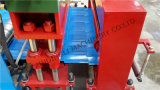 機械を形作る機械または建築材料の機械装置の/Glazedのタイルロールを形作る使用された金属の屋根によって艶をかけられるタイルロール