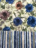 Printed Software Polyester Velvet Fabric for Sofa/Furniture All Colors Are Available