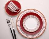 Renascimento vermelho modelo ajustado do bife da salada do bife do osso