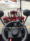 23kw Pá carregadeira de rodas dianteira fábrica profissional carregadora de rodas compactas