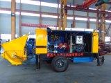 Venta caliente! 80m3/H motor diésel de la bomba de hormigón de remolque para venta con certificado CE