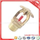 Dn15 Tête sprinkleur incendie verticale en laiton pour lutter contre les incendies système sprinkleur, d'incendie, des têtes sprinkleur