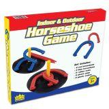 L'anello di scossa gioca i giochi del ferro di cavallo del ferro