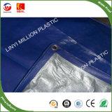 Folha de plástico PE/Oleados flexível com 6 bandas azul ou preta