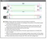 Высокое качество 280кг водонепроницаемый Magentic блокировка IP 68 600 фунтов для стекла двери IP68
