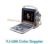 Coeur de diagnostic cardiaque échographie Doppler couleur Scanner avec sonde Phased Array Yj-U60plus