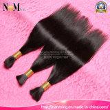 Natürliche beste Großhandelsqualitätsursprüngliche indische Haar-Masse Haar-Kilogramm-100%