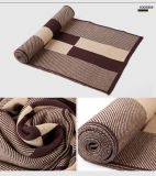 Шерстей зимы людей шарф классицистических теплых акриловый связанный (YKY4611)
