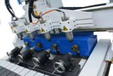 Маршрутизатор с ЧПУ Multi-Heads машины с вакуумными адсорбция стол для резки доску