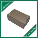 접착제 없는 관례에 의하여 인쇄되는 물결 모양 상자 브라운 물결 모양 수송용 포장 상자