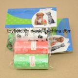 Saco de plástico Saco de resíduos para animais de estimação Saco perfumado Poop Poop