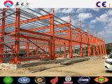 Estructura de acero de fabricación de almacén de material de construcción