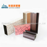 Profil en aluminium des graines de peinture en bois blanche de transfert pour le guichet de tissu pour rideaux