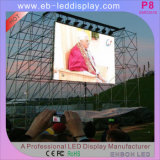 13kg P10mm LED Alquiler panel de la pantalla (640 * 640 mm)