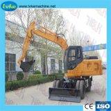 China Venta caliente fábrica 6t 7t 8t 10t 12t Excavadoras Mini