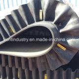 De golfdie Transportband van de Zijwand Op Kolenmijnindustrie wordt gebruikt