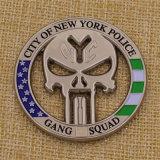 Kundenspezifische Die Cast Stadt New York Police Challenge Coin