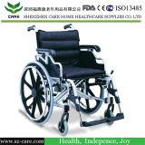 Sorgfalt-medizinischer leichter manueller Aluminiumrollstuhl