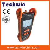 Sorgente luminosa ottica di Techwin del tester della fibra di Costo-Effctive di Tw3109e