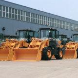 Pala cargadora de ruedas con el CE, Peso 10ton y 1.8cbm Pala
