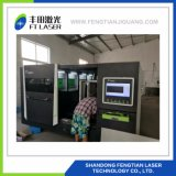2000W полной защиты металлические волокна лазерная резка оборудование 4020