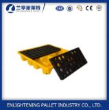 Pallet di plastica resistente di caduta dei 4 timpani per industria petrolifera