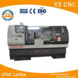 싼 편평한 침대 유형 및 자동적인 CNC 선반 기계