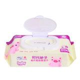 80 ПК антибактериальные мягкой хлопковой влажной салфеткой малыша влажной ткани