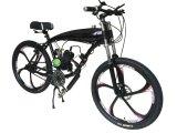 Die schwarze Farbe, die Fahrrad läuft, Cdhpower motorisierte Fahrrad, Kraftstoff-Benzin-Motor-Installationssatz-Fahrrad 26 Zoll-Mag-Rad-Fahrrad