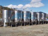 Fermentadora del vino del acero inoxidable, fermentadora cónica de 15 galones