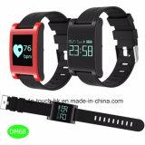 Armband van het Silicone van de Armband van de geschiktheid de Slimme met Bluetooth en Waterdichte Dm68