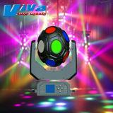 Disco lumière 12*20W Cosmopix 4en1 LED-R Déplacement de la lumière de la tête
