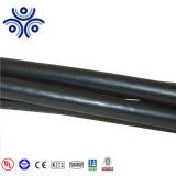 Assistere il cavo di supporto neutro riduttore ACSR Triplex 0.6/1kv di Janthina del cavo del cavo di goccia 1/0