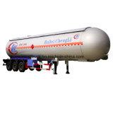 Isobutano propano Gas clásico remolque cisterna para África Venta 3 ejes de transporte de gas semi remolque Tri-Axle Tanque de GLP Trail
