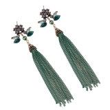 De Boheemse Juwelen van de Vrouwen van de Oorring van de Leeswijzers van het Metaal van het Bergkristal van de Manier Lange Kleurrijke