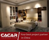 Hochwertige kundenspezifische hölzerne Garderoben-Wandschränke für Schlafzimmer