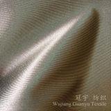 Tissu 100% d'imitation en soie de polyester à la maison de textile pour le rideau