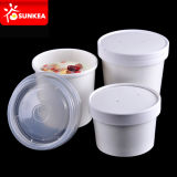 PLA Lined는 Lid를 가진 Disposable Hot Paper Soup Cup를 관례 만들었다