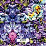 Motif de fleurs éclatantes Hydro pour l'extérieur de films et de l'usage quotidien (BDE436)