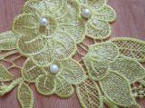 Высокое качество водорастворимые вышивка кружева для создания женских втулку