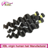 No Chemical Process Virgin Peruvian Hair Natural Black Hair