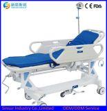Utilisation de l'hôpital d'instruments médicaux de civière de transport multifonction hydraulique