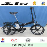 """"""" bâti de l'alliage 20 d'aluminium pliant la bicyclette électrique avec EN15194 (JSL039XBL-1)"""