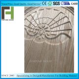 Nuevo diseño de línea convexa de la puerta de madera moldeada Venner HDF Piel