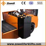 Ce quente da venda do ISO 9001 de Zowell trator elétrico de um reboque de 4 toneladas que senta-se no tipo