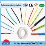 600V trenzó el solo cable, alambre de cobre destemplado aislado PVC, cable del AWG 14 Thw, acceso de Ningbo