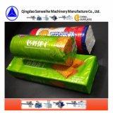 Au cours de l'emballage de liage automatique de la cellophane pour Galette de la machine