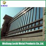 Résistance à la corrosion pour la sécurité de clôture en acier galvanisé
