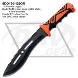 """12.5 """" pugnali esterni pratici di caccia con due volte la maniglia dell'ABS dell'iniezione: 6do151-125bl"""